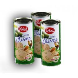 Hähnchen Salami mit oliven 575g